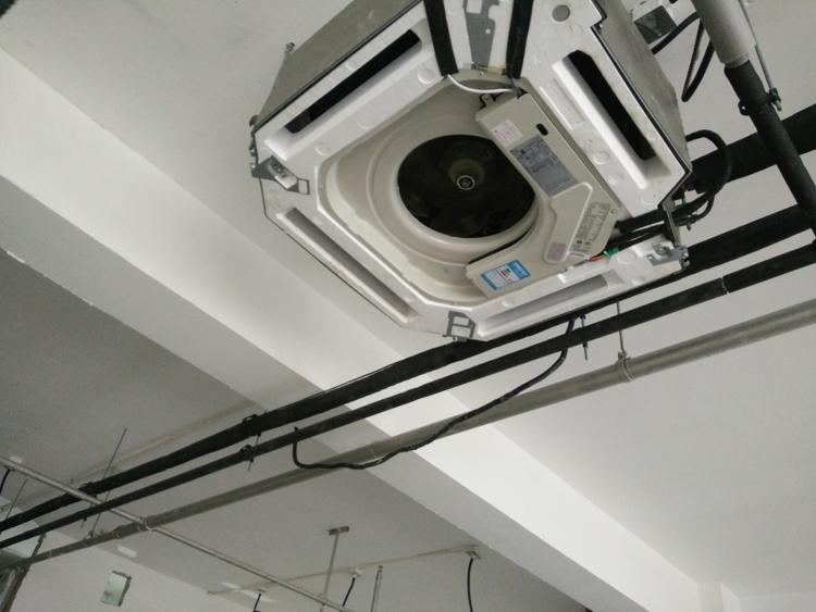 中央空調室內機安裝效果圖
