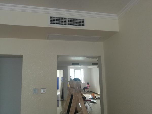北京市东城区交道口北二条文津世家美的一拖四中央空调安装案例