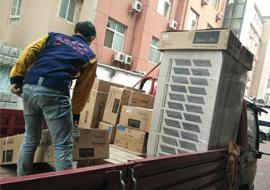 北京长保大厦 美的一拖九大多联中央空调机组安装案例